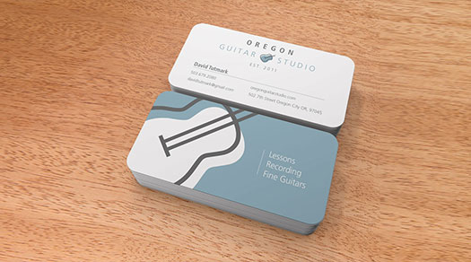 Oregon guitar studio business cards by graphicsbyte graphicsbyte studio business cards by graphicsbyte oregon colourmoves
