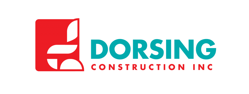 Dorsing Construction Logo designed by Mark Boehly - Graphicsbyte Creative
