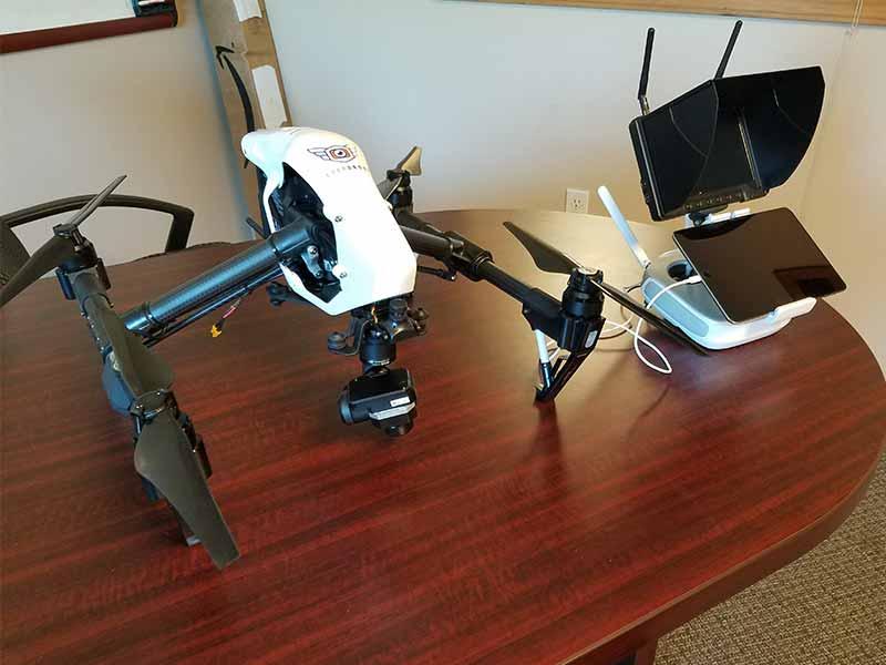 DJI Inspire Everdrone UAV