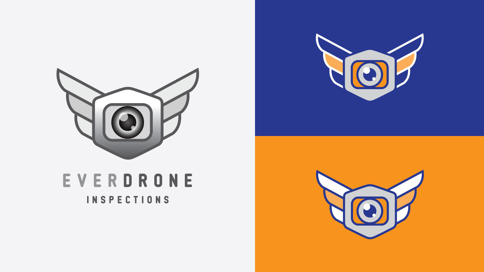 Everdrone Logo Graphicsbyte Creative Media