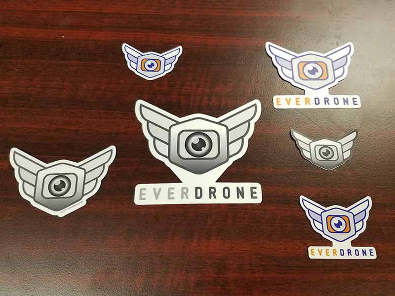 Everdrone Stickers
