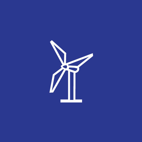 Wind Turbine Icon for Everdrone
