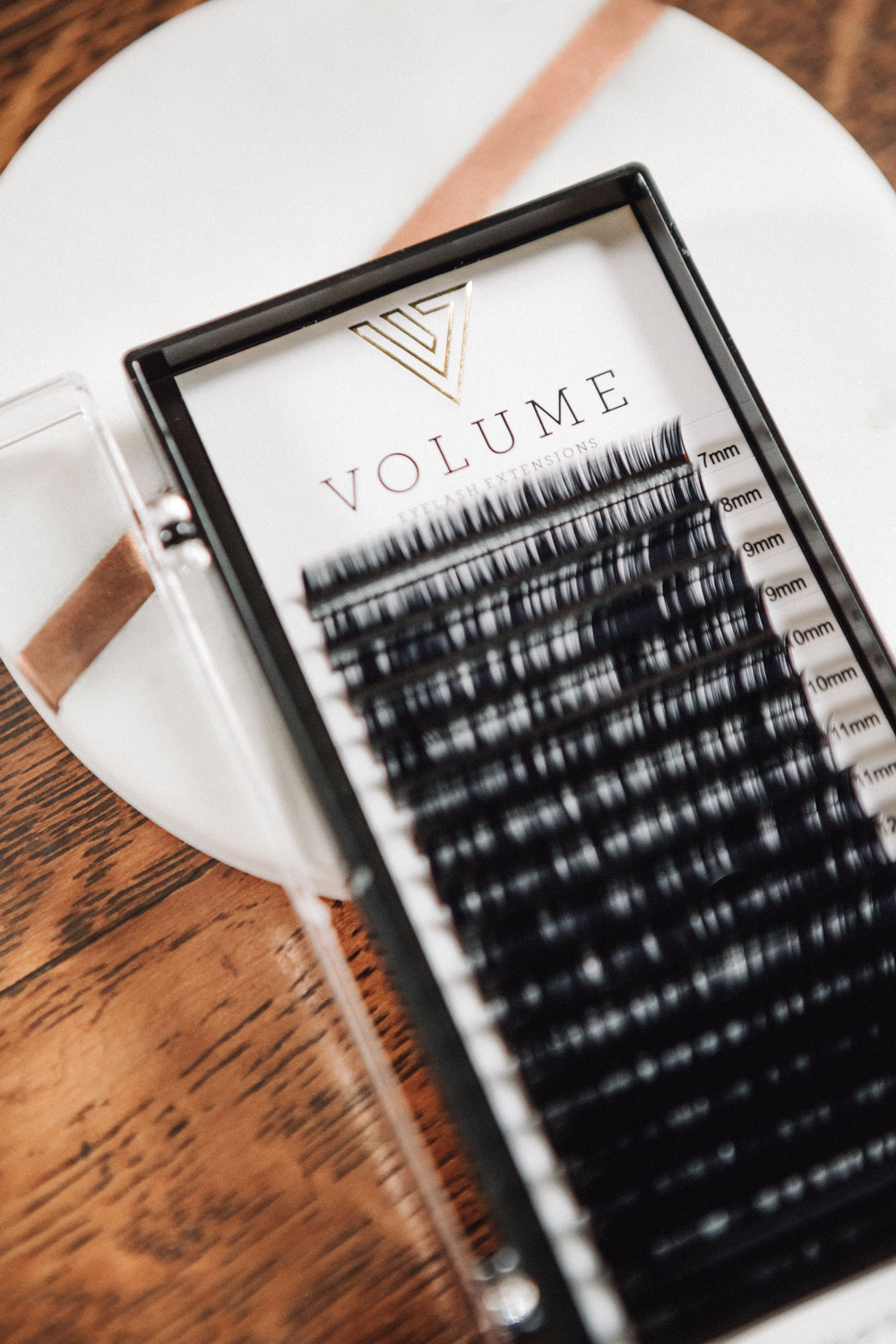 Volume Eyelash Extensions branding by Graphicsbyte aka Mark Boehly