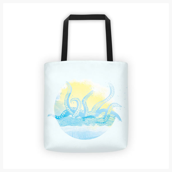 Kraken Handbag Graphicsbyte