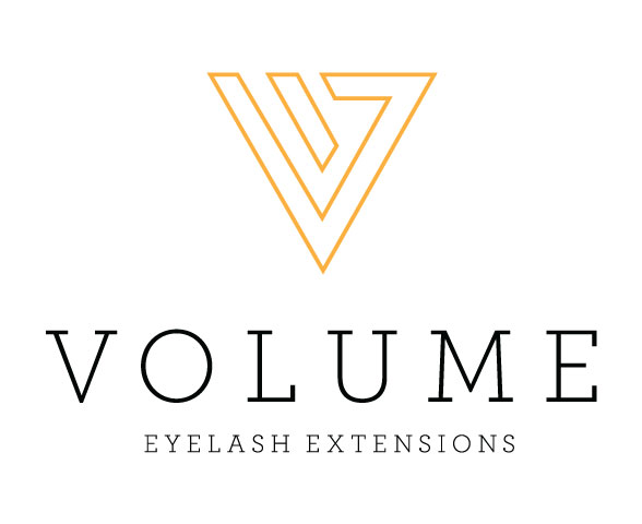 Volume Eyelash Extensions Logo Graphicsbyte