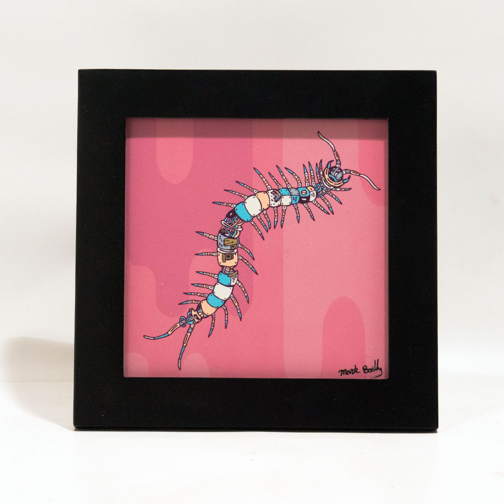 Centria Centipede illustrated by Mark Boehly