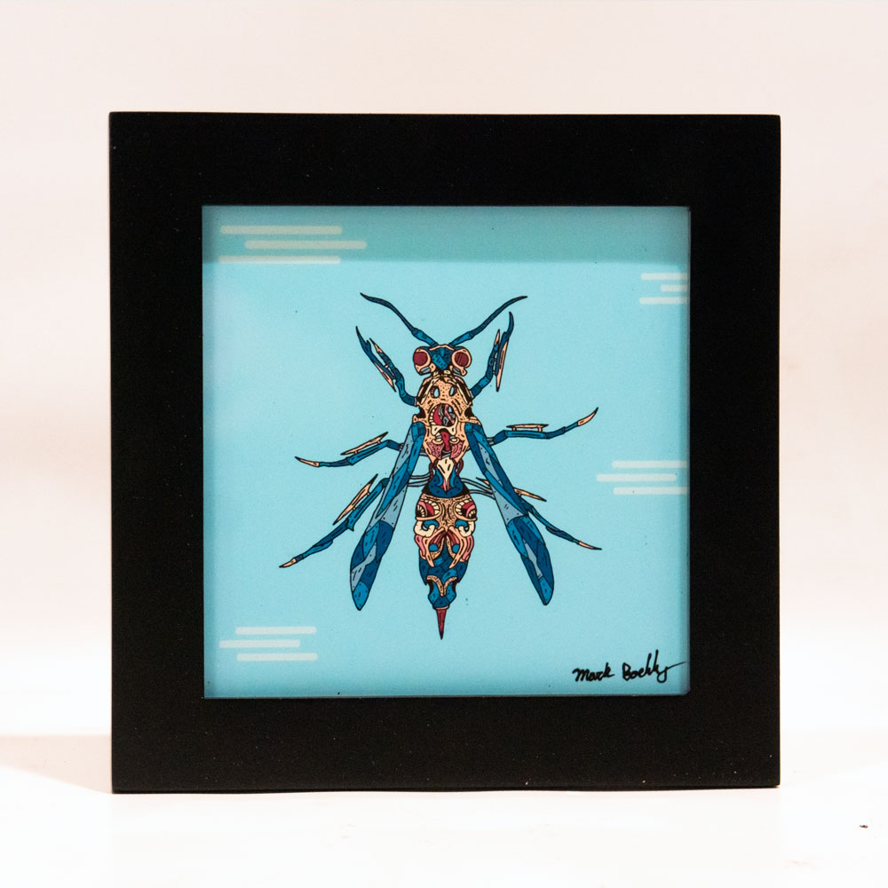 Glassia Wasp illustrated by Mark Boehly