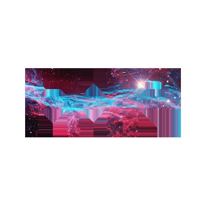 AHP Nebula logo Designed by Mark Boehly - Graphicsbyte Creative