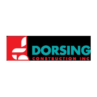 Dorsing Construction Logo Designed by Mark Boehly - Graphicsbyte Creative