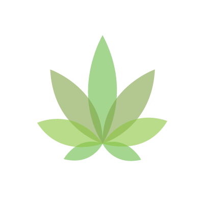 Graphicsbyte Cannabis Leaf Logo