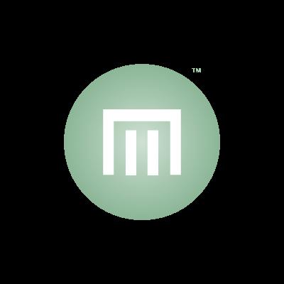 M Momogram Logo Designed by Mark Boehly - Graphicsbyte Creative