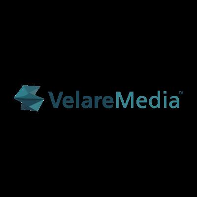 Velare Media Logo designed by Mark Boehly - Graphicsbyte Creative
