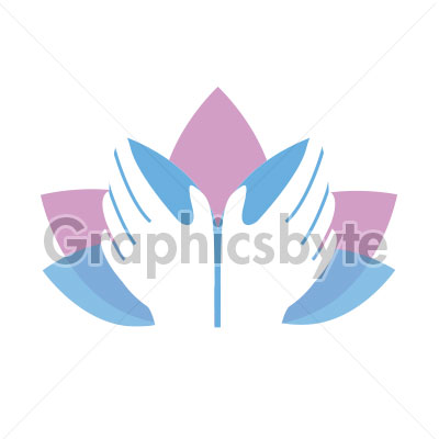 Lotus Massage Logo for sale by Graphicsbyte Creative - Mark Sheldon Boehly
