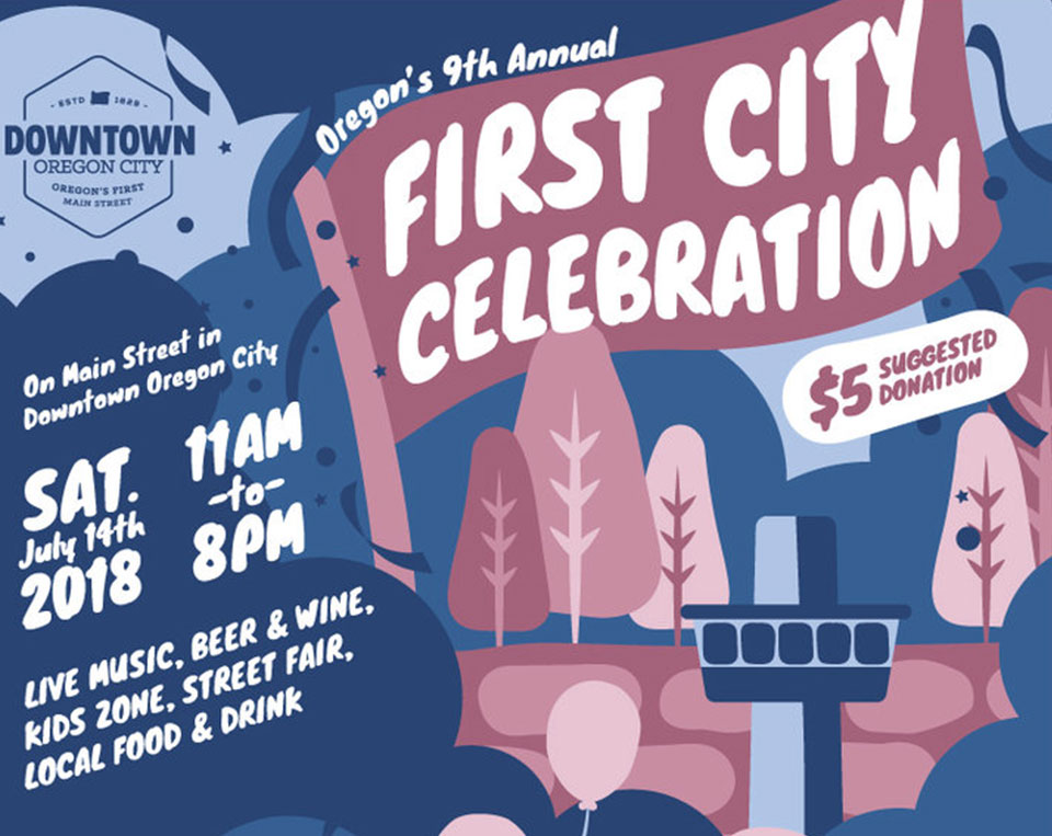 First Citcy Celebration in Oregon City