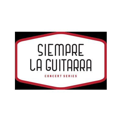 Siempre La Guitarra Logo designed by Mark Boehly - Graphicsbyte Creative