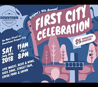 Downtown Oregon City First City Celebration