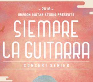 Siempre La Guitarra Classical Guitar Event