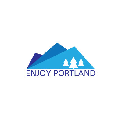 Enjoy Portland Logo by Graphicsbyte aka Mark Boehly