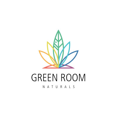 Green Room Naturals logo by Graphicsbyte aka Mark Boehly