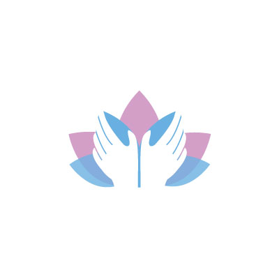 Lotus Massage Logo by Graphicsbyte aka Mark Boehly
