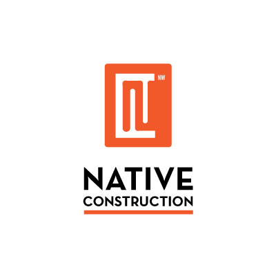 Native Construction logo by Graphicsbyte aka Mark Boehly