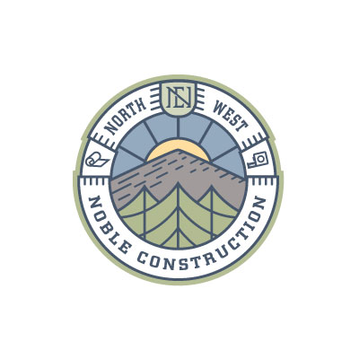 NW Noble Construction Seal by Graphicsbyte aka Mark Boehly