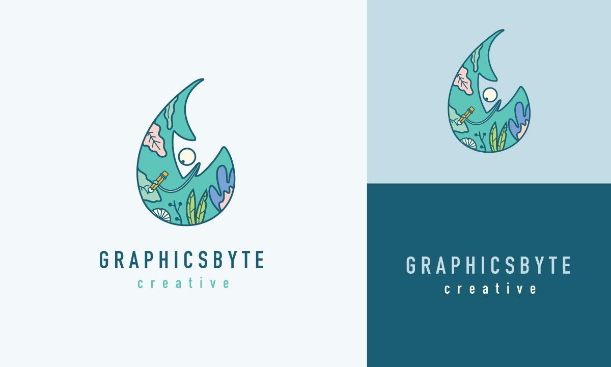 Graphicsbyte Creative Logo 2019