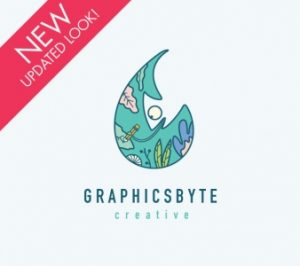 Graphicsbyte Creative 2019 Updated Logo by Mark Boehly