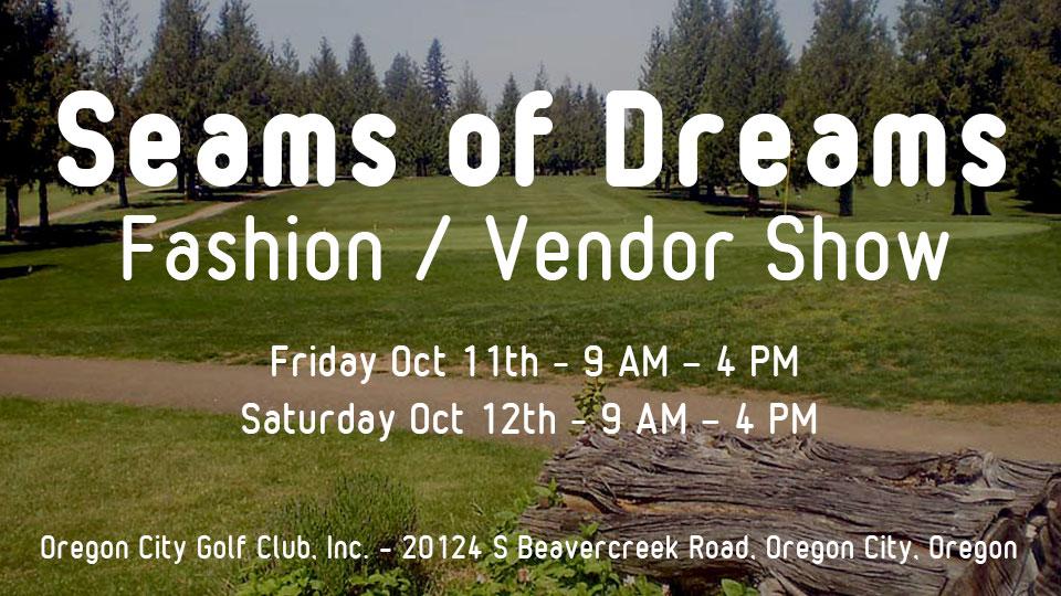 Seams of Dreams Fashion Show at Oregon City Golf Club