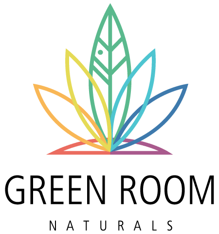 Green Room Naturals Logo designed by Graphicsbyte Creative - Mark Sheldon Boehly