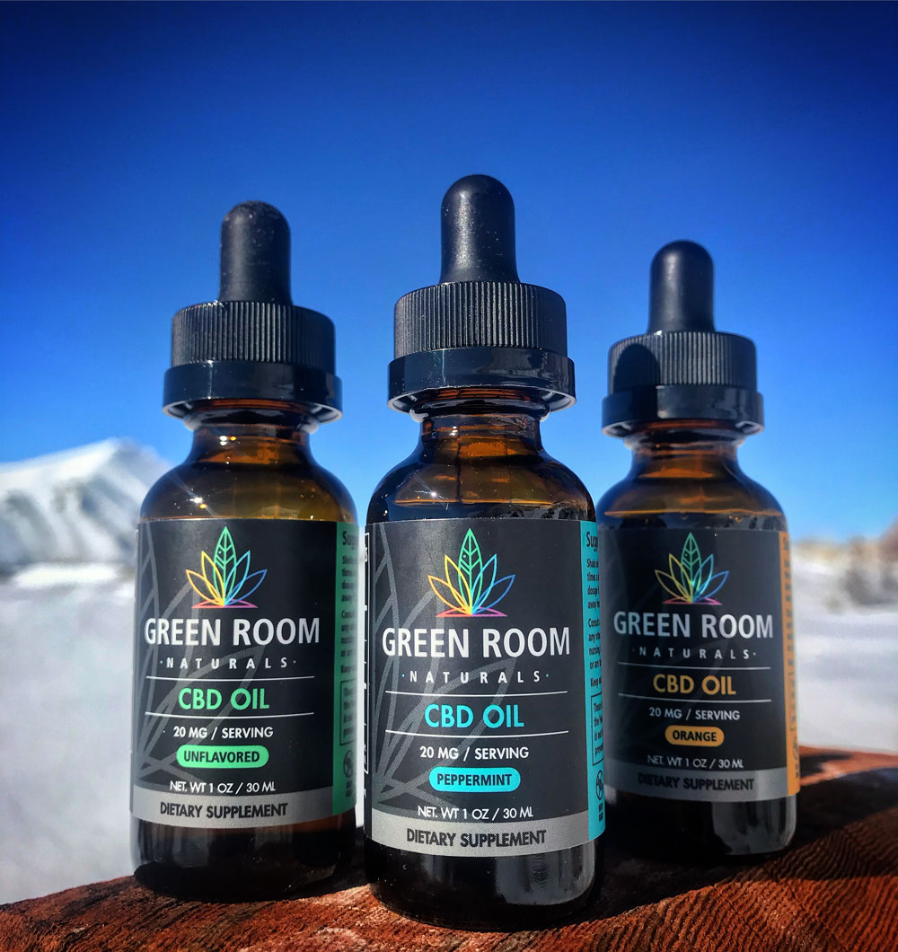 CBD Oil by Green Room Naturals