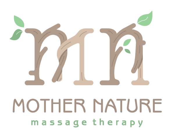 Mother Nature Massage Therapy Logo Design by Graphicsbyte Creative - Mark Boehly