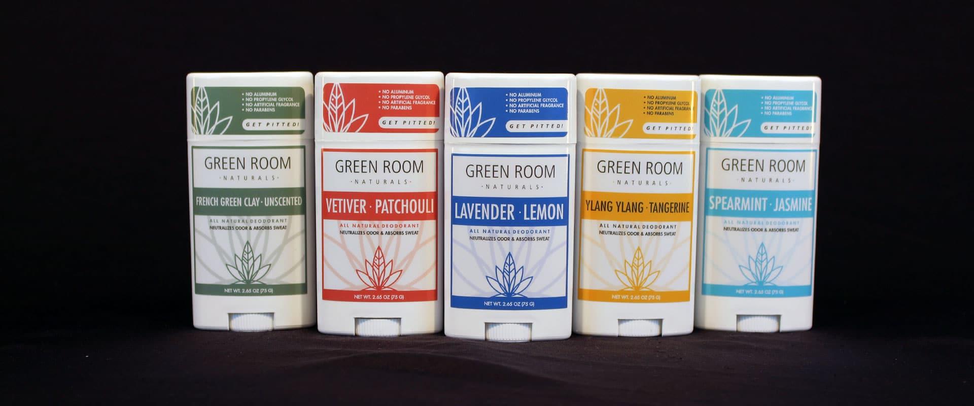 Green Room Naturals Deodorant
