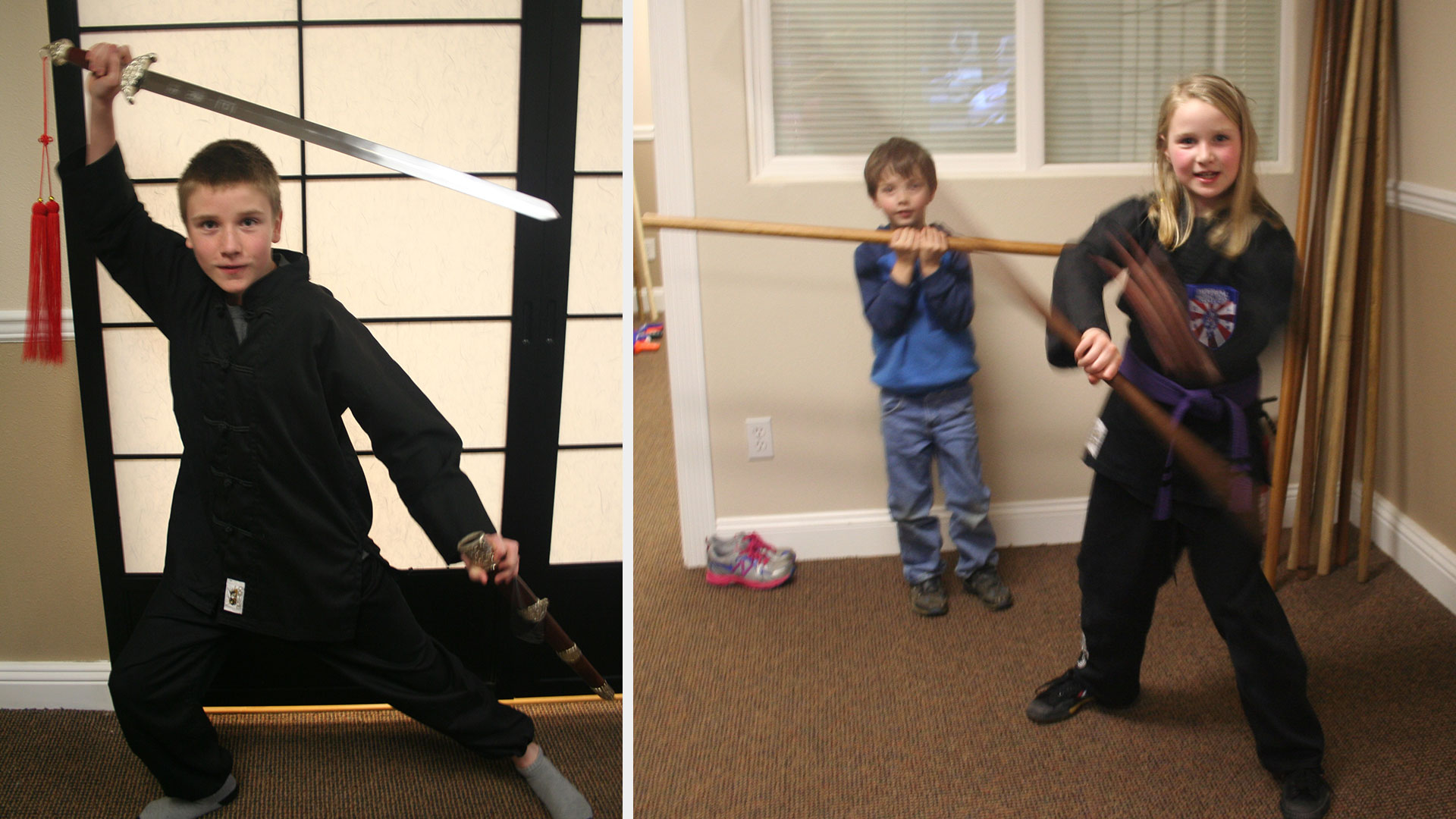 Tucker & Gabby Goode Students of Imperial Martial Arts Academy