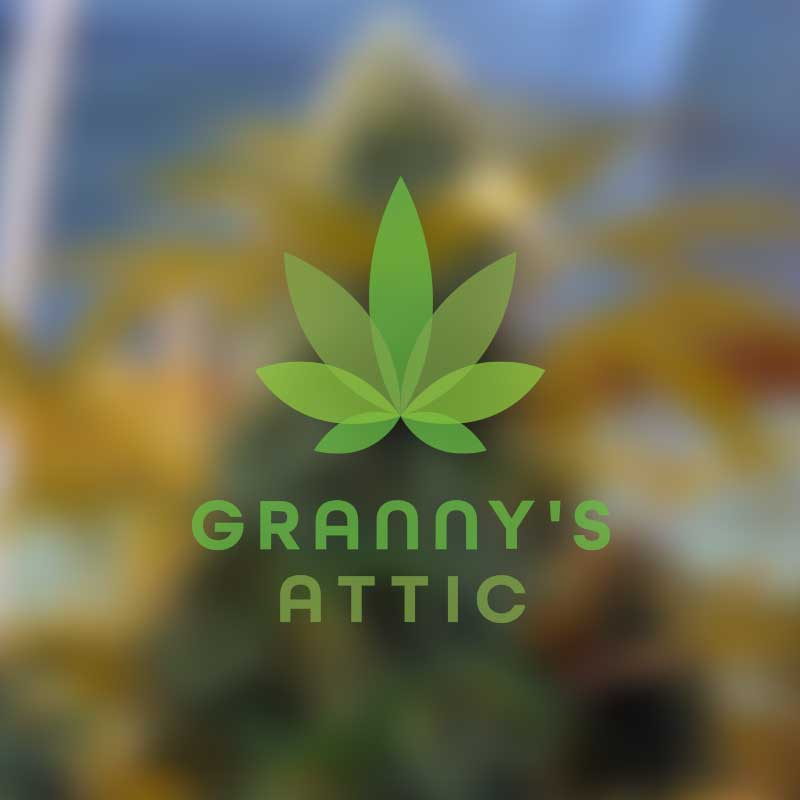 Granny's Attic Brand Design by Graphicsbyte Creative - Mark Boehly