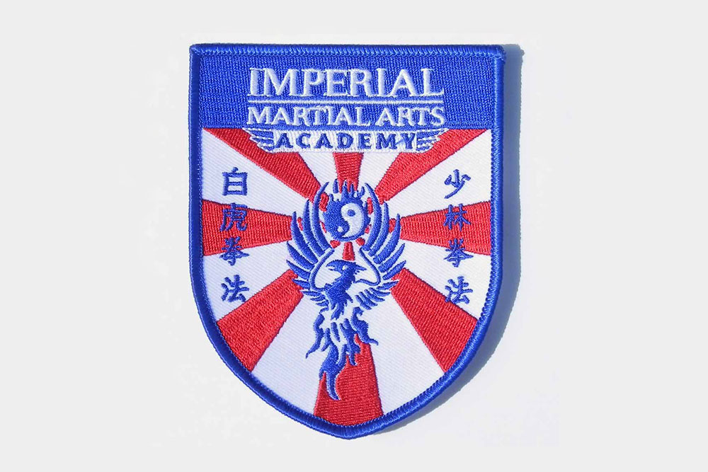 Imperial Martial Arts Academy brand design by Graphicsbyte Creative - Mark Boehly