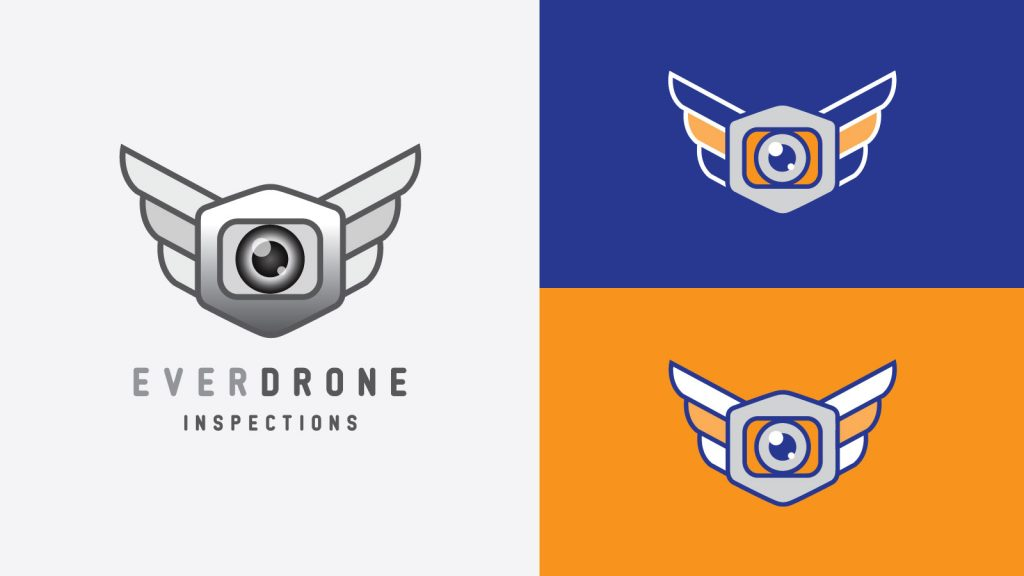 Everdrone Logo by Graphicsbyte Creative - Mark Boehly