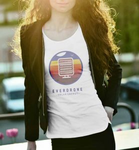 Everdrone T-Shirt Branding by Graphicsbyte Creative - Mark Boehly