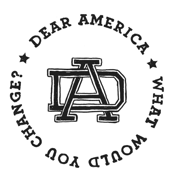 Dear America What Would You Change? Logo Design by Graphicsbyte Creative - Mark Boehly