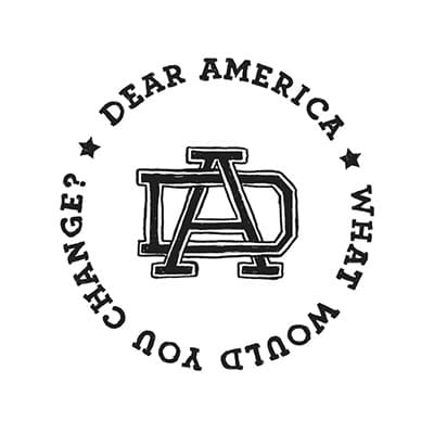 Dear America What Would You Change? Logo designed by Mark Sheldon Boehly - Graphicsbyte Creative