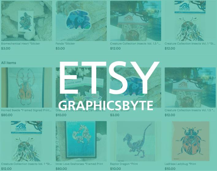 Graphicsbyte Etsy Shop