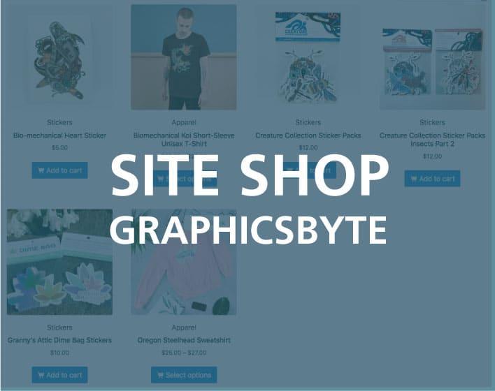 Graphicsbyte Woocommerce Shop