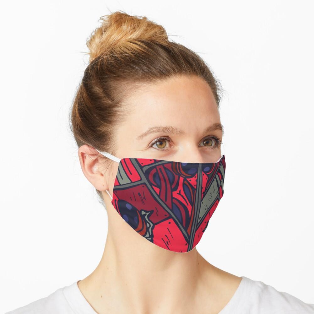 Covid-19 Mask - Biomechanical Ladybug Mask by Graphicsbyte Creative - Redbubble