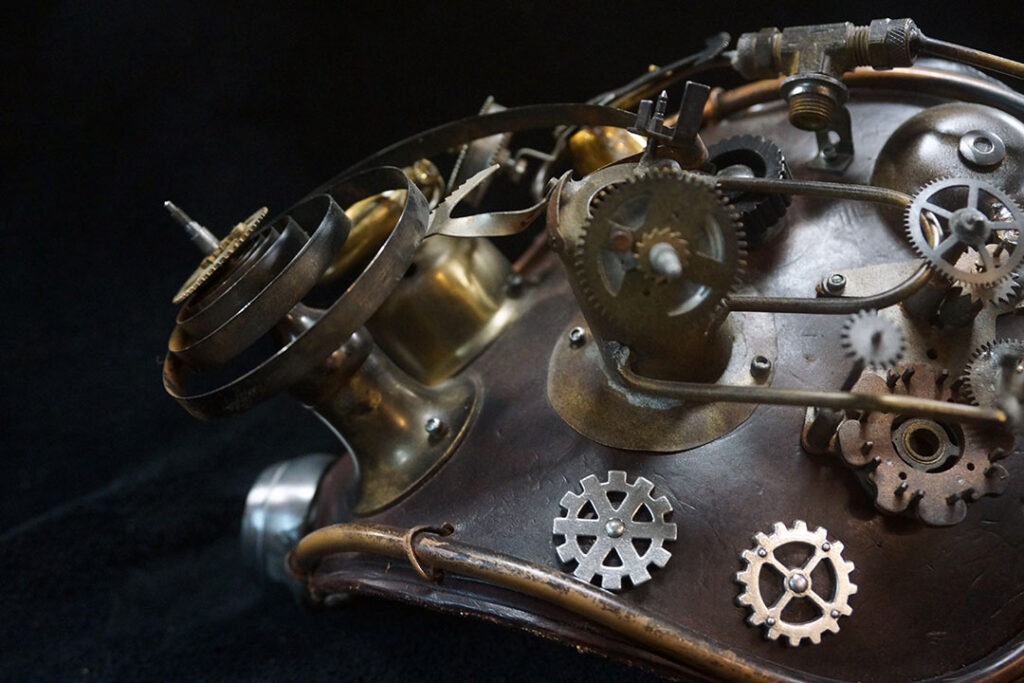 Steampunk Maniacs Cogs and Gears - Photography by Mark Sheldon Boehly - Graphicsbyte Creative