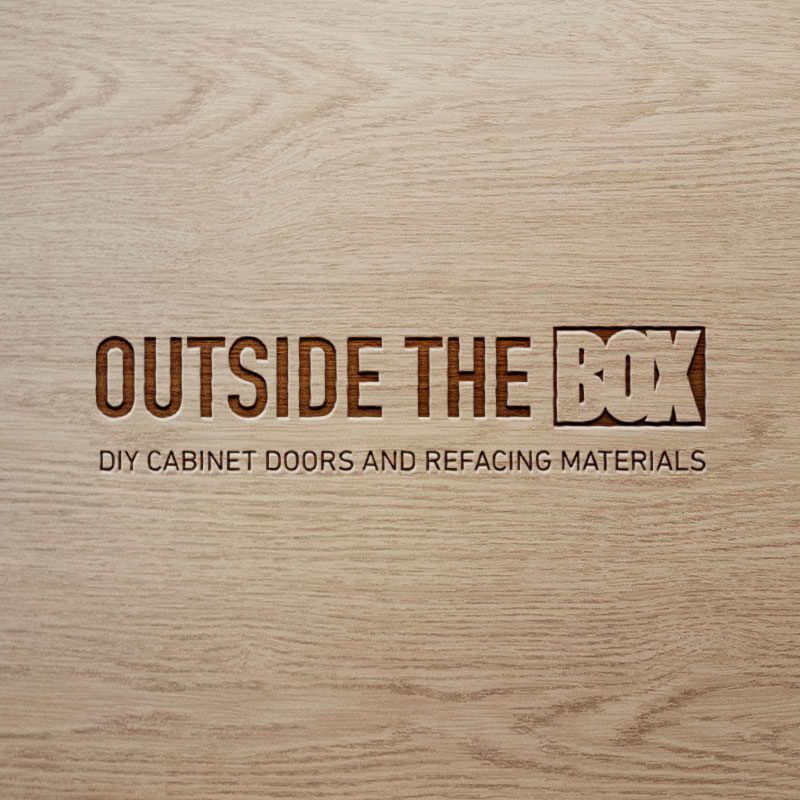 Outside The Box - DIY Cabinet Doors website by Graphicsbyte Creative