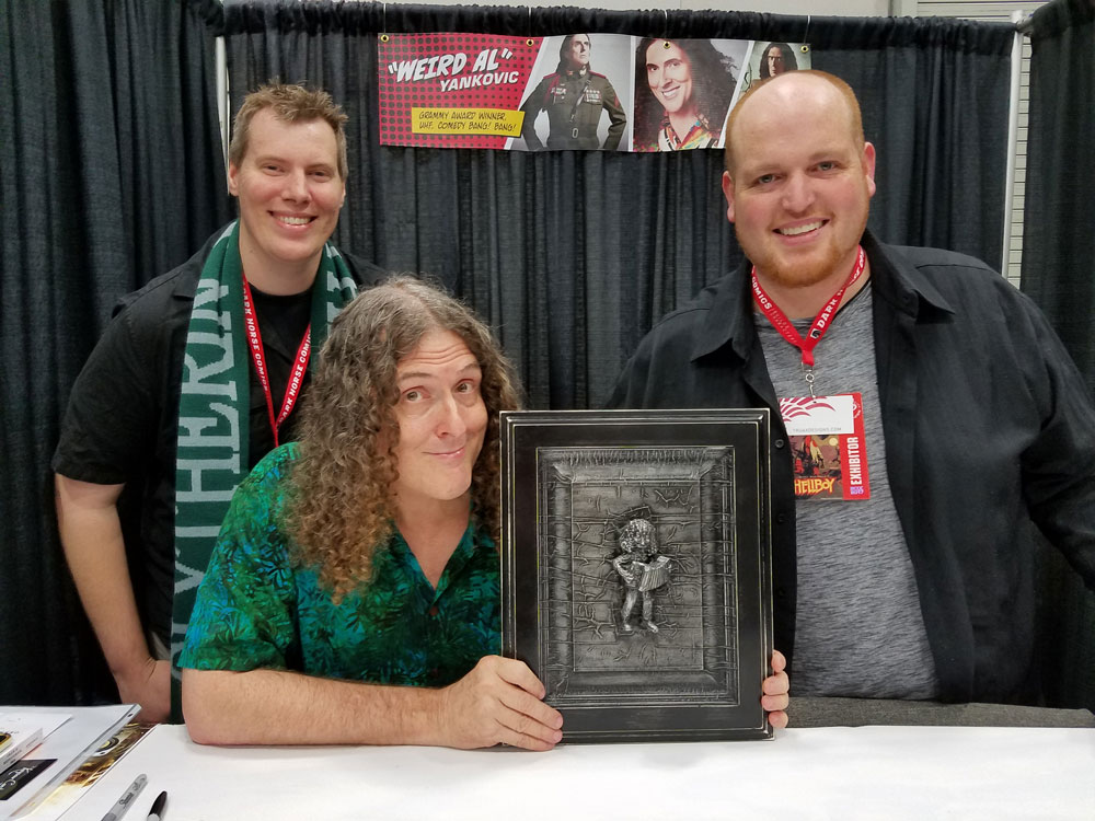Weird Al Yankovic with Mark Boehly & Christopher Truax - Rose City Comic Con