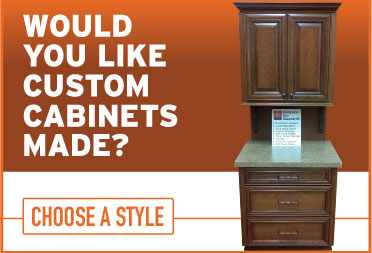 Cabinet Cures Custom Cabinets CTA designed by Graphicsbyte
