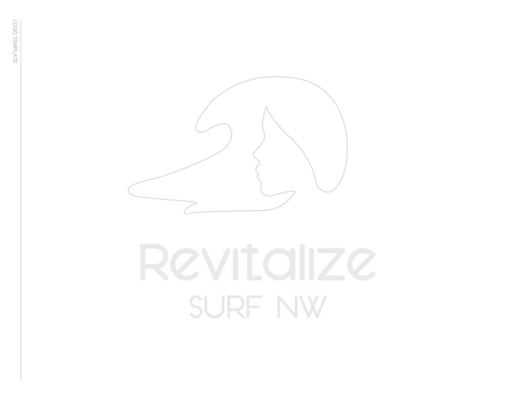 Revitalize Surf NW Logo Template designed by Graphicsbyte Creative